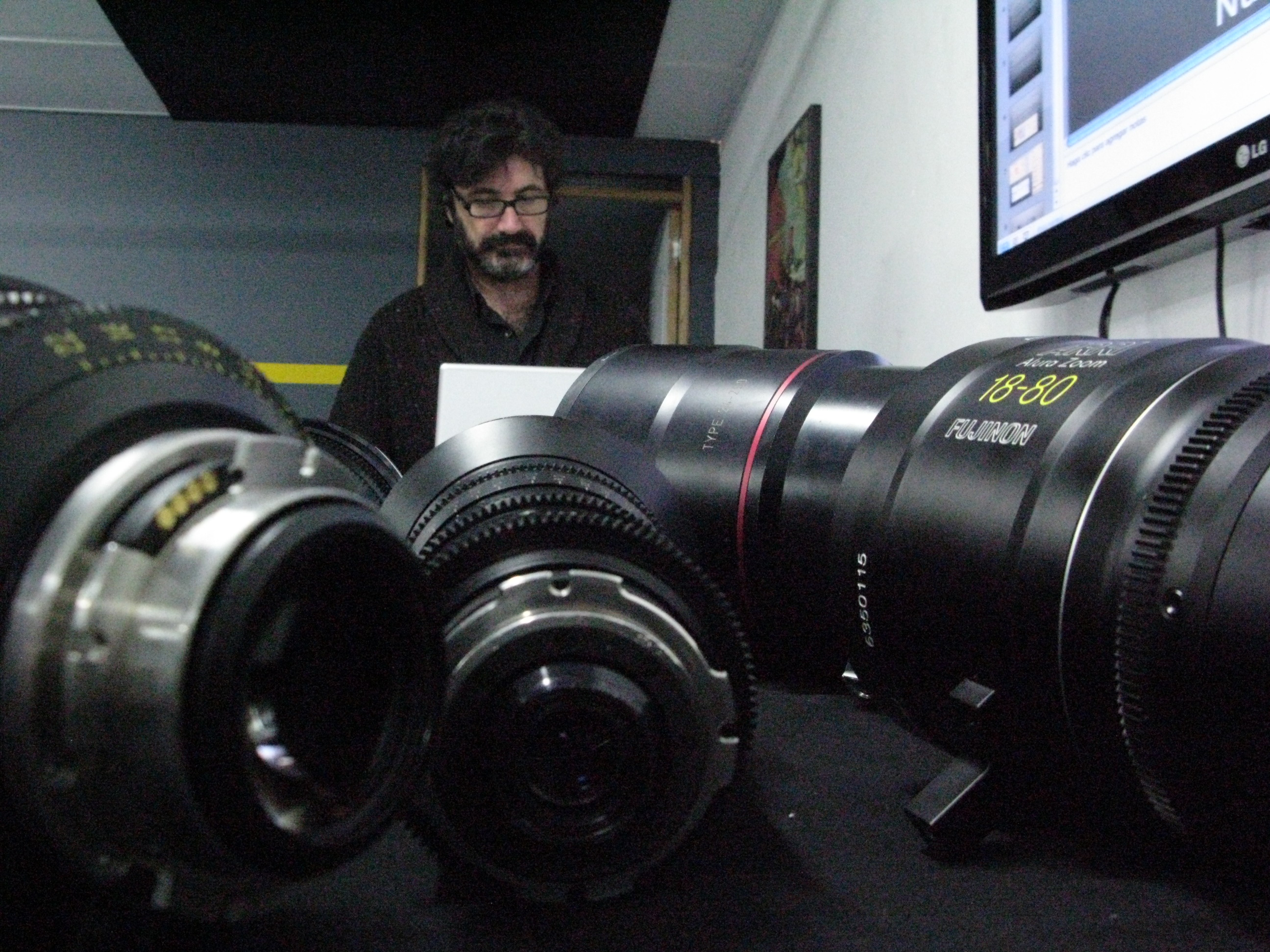 Opticas para Cinematografía